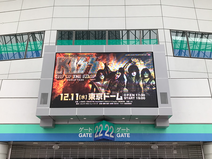 KISS END OF THE ROAD WORLD TOUR 東京ドーム
